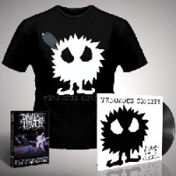 Venomous Concept - Kick Me Silly; VC3 - LP Gatefold + DVD + T Shirt Bundle (Men)