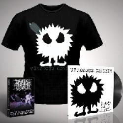Venomous Concept - Kick Me Silly; VC3 - LP Gatefold + DVD + T Shirt Bundle (Men)