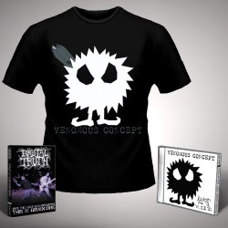 Venomous Concept - Kick Me Silly; VC3 + For the Ugly - CD + DVD + T Shirt bundle (Men)