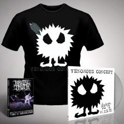 Venomous Concept - Kick Me Silly; VC3 (eShop Exclusive) + For the Ugly - LP Gatefold + DVD + T Shirt Bundle (Men)