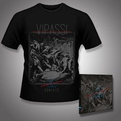 Vipassi - Sunyata - CD DIGIPAK + T Shirt bundle (Men)