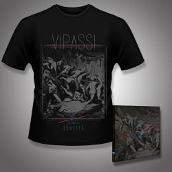 Vipassi - Sunyata - CD DIGIPAK + T Shirt bundle (Men)