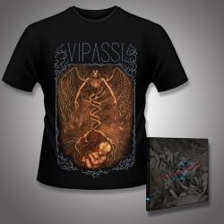 Vipassi - Sunyata + Tree of Life - CD DIGIPAK + T Shirt bundle (Men)