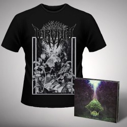 Virvum - Illuminance + Skull - CD DIGIPAK + T Shirt bundle (Men)