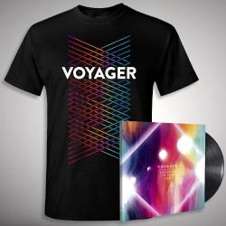 Voyager - Colours in the Sun + Lines - LP + T shirt Bundle (Men)