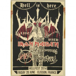 Watain - Part 4 Of 10 Of The Watain Poster Series - Screenprint