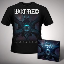 Wormed - Krighsu - CD DIGIPAK + T Shirt bundle (Men)