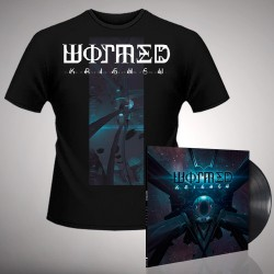 Wormed - Krighsu + Pulsar - LP Gatefold + T Shirt Bundle (Men)
