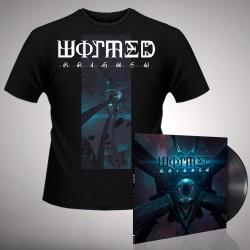 Wormed - Krighsu + Pulsar - LP Gatefold + T Shirt Bundle (Men)