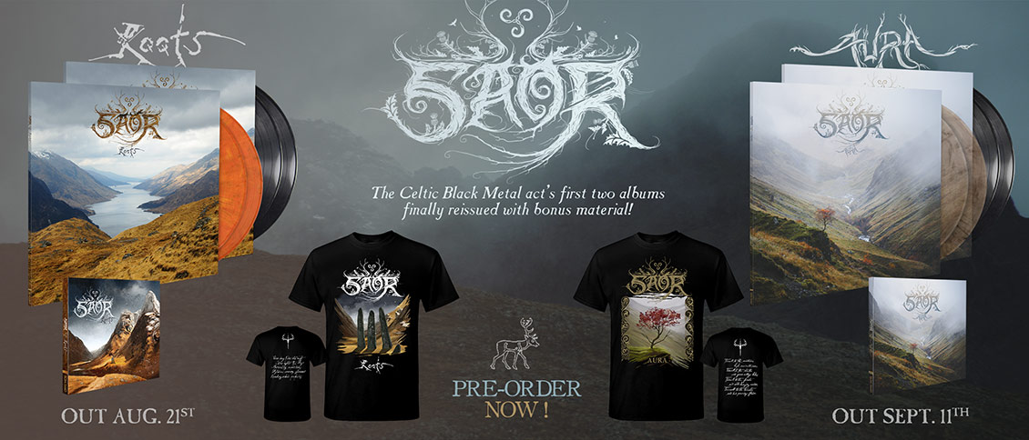 "Since its inception in 2013, SAOR has continually expanded its pallet while evoking its Scottish heritage. Driven by the vision of the band's founder Andy Marshall, SAOR (""free"" in Scottish Gaelic) has a uniquely expressive approach that dives deep into literature, history, sorrow, and the majestic mountain landscapes of his homeland."