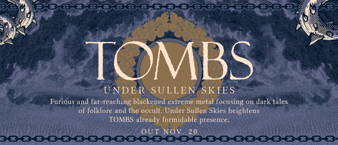 Under Sullen Skies delivers a blackened fury of extreme metal, intertwining with savage, doom-laden brutality.  Focusing on dark and foreboding tales of folklore and the occult, it captures the agonizing misery, furious vexation, and psychological turmoil that is ravaging humanity at present day.