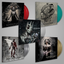 Classic Septicflesh on new colored vinyl