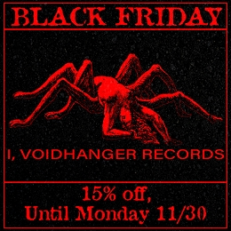 All I, Voidhanger releaese in our shop are on sale!