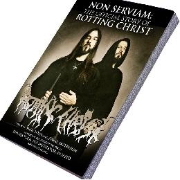 History of the band, written by Sakis, interviews w/Themis Tolis, Jim Mutilator, Morbid, George Tolias