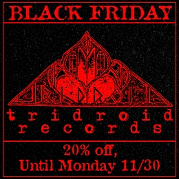 The Tridroid records catalog is on sale